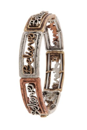 Believe stretch bracelet-id.cc50881