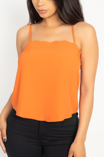 Scallop opening cami top-id.cc51022