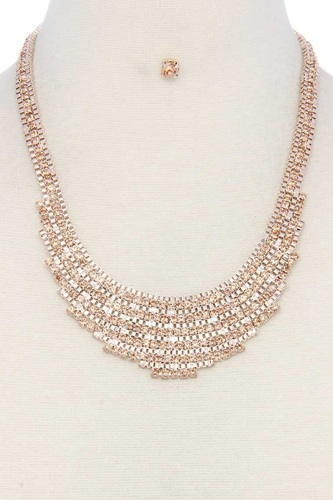 Rhinestone short necklace-id.cc51048
