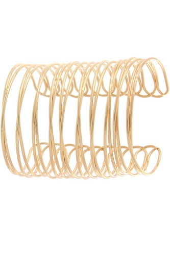 Wide wired cuff bracelet-id.cc510567
