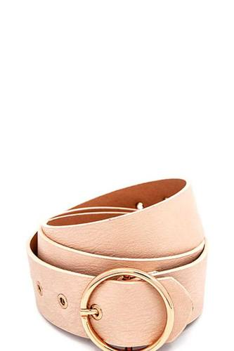 Round buckle frommet end fashion belt-id.cc51130