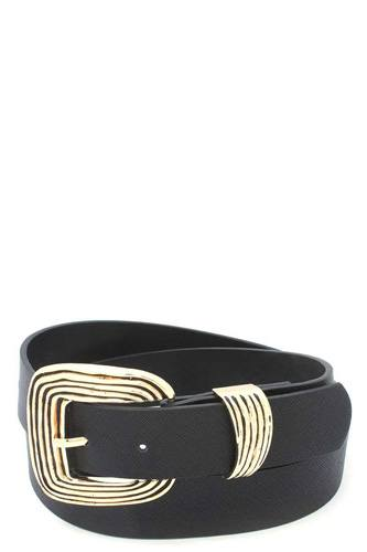 Metal buckle pu leather belt-id.cc511336