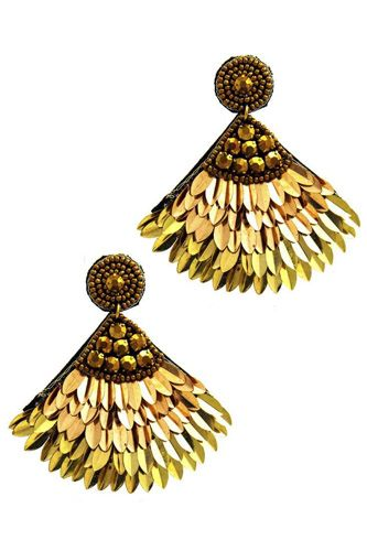 Fashion chic feather stylish earring-id.cc51165