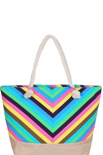 Stylish rainbow chevron pattern natural shopper-id.cc51179