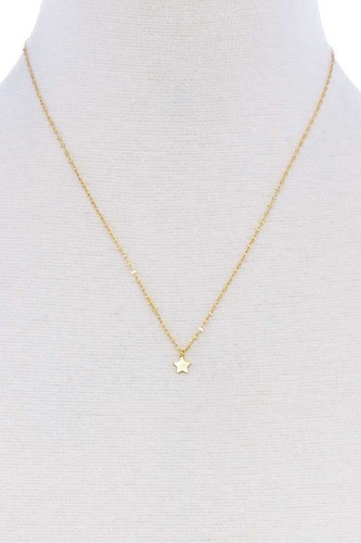 Cute star charm pendant necklace-id.cc51247