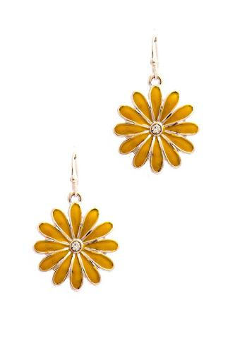 Chic trendy flower earring-id.cc51251
