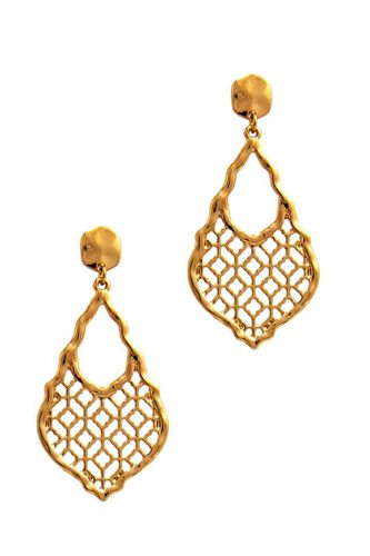 Chic moroccan pattern drop earring-id.cc51252