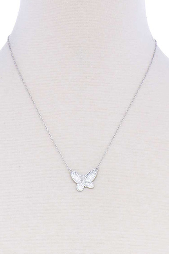 Cute butterfly chic necklace-id.cc51397