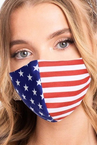 Made in usa / fashionable 3d reusable face mask-id.cc51424