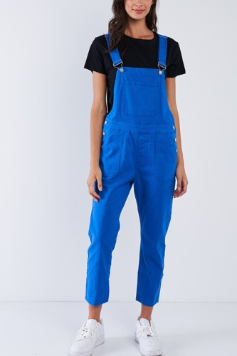 Royal blue soft ankle length overall-id.cc51432