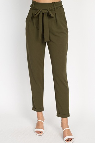 Paperbag self tie pants-id.cc51443a