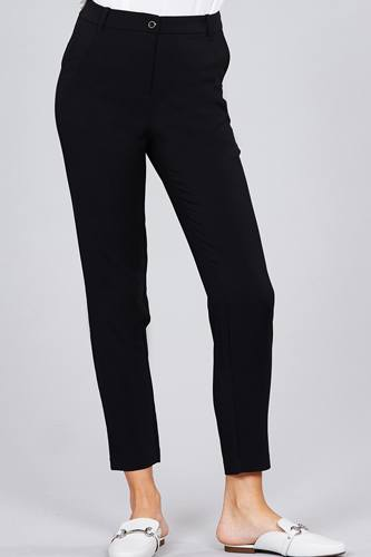 Seam side pocket classic long pants-id.cc51447