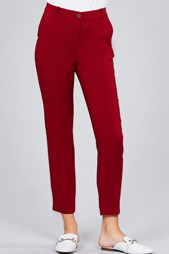 Seam side pocket classic long pants-id.cc51447a
