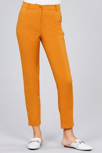 Seam side pocket classic long pants-id.cc51447c