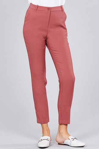 Seam side pocket classic long pants-id.cc51447d
