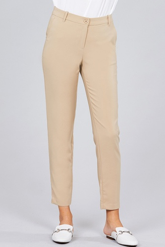 Seam side pocket classic long pants-id.cc51447e