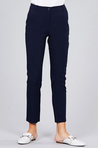 Seam side pocket classic long pants-id.cc51447f