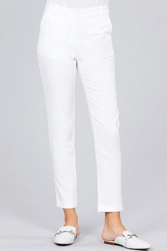 Seam side pocket classic long pants-id.cc51447g