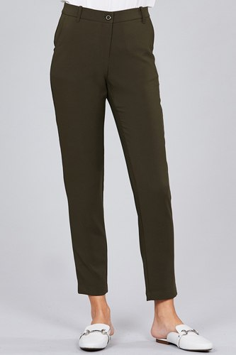 Seam side pocket classic long pants-id.cc51447h