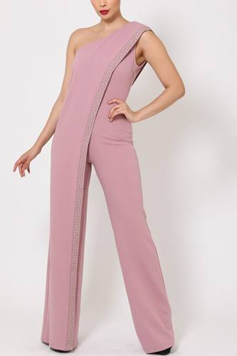 One shoulder greek border pattern jumpsuit-id.cc51499c