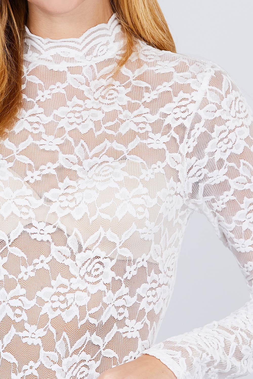 Long sleeve scallop mock neck lace bodysuit-id.cc51853b-P118