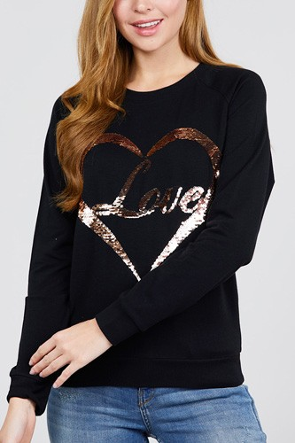 Love sequins pullover-id.cc52166