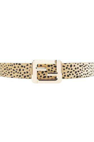 Leopard fashion square letter buckle belt-id.cc52193