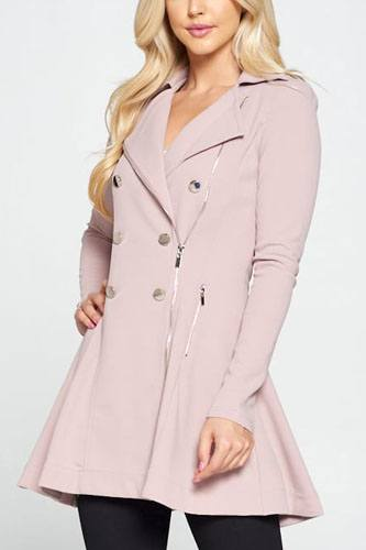 Double breasted flare blazer dress-id.cc52303a