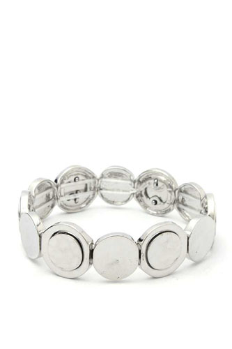 Circle metal stretch bracelet-id.cc52374