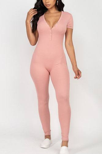 Button down bodycon jumpsuit-id.cc52377a