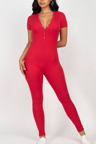 Button down bodycon jumpsuit-id.cc52377c