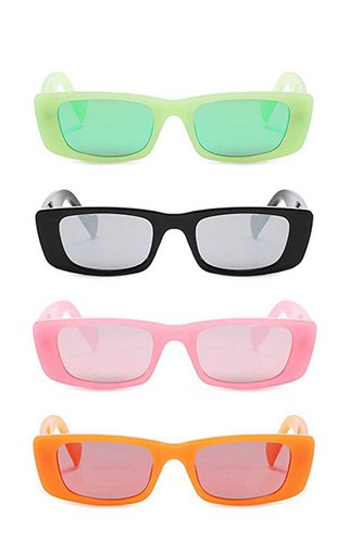 Trendy sharp eye vibrant colored sunglasses-id.cc52593