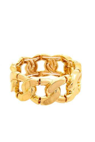 Stretchable thick chain shape bracelet-id.cc52665