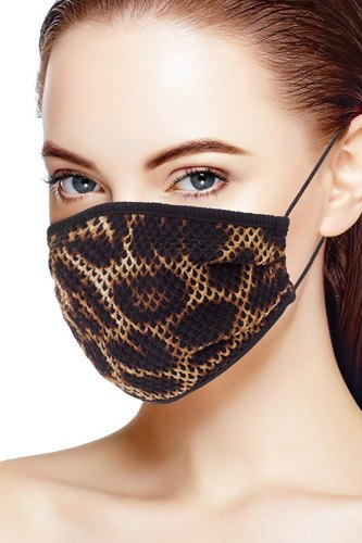 Mesh leopard and camouflauge print face mask-id.cc52683