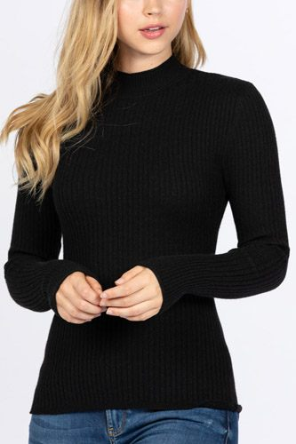 Mock neck viscose sweater-id.cc52726