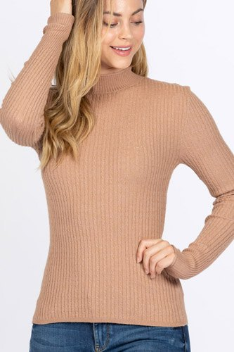 Mock neck viscose sweater-id.cc52726b