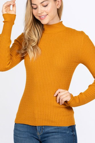 Mock neck viscose sweater-id.cc52726c