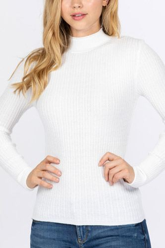 Mock neck viscose sweater-id.cc52726d