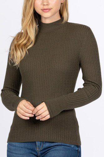 Mock neck viscose sweater-id.cc52726e
