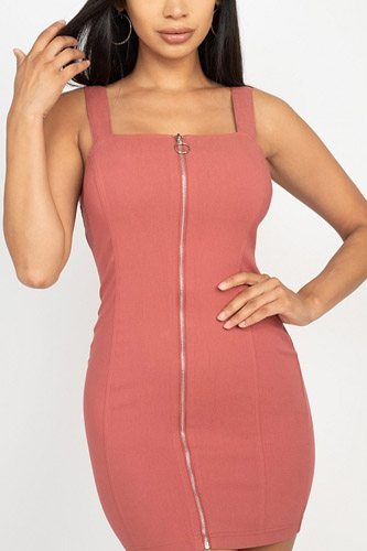 Front zip mini dress-id.cc52731b