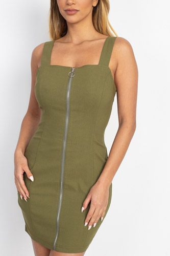 Front zip mini dress-id.cc52731c