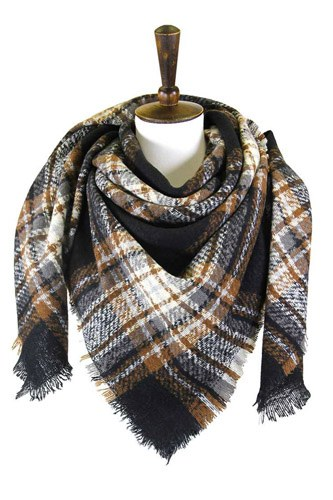 Plaid square blanket scarfst-id.cc52761