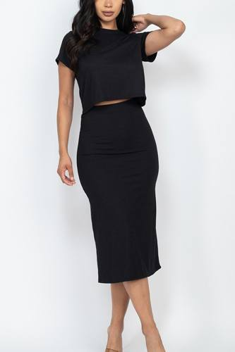 Top and midi skirt set-id.cc52842d