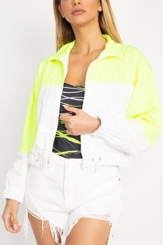 Long sleeve color blocking wind breaker-id.cc53034