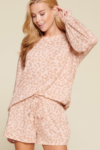 Leopard printed knit loungewear set-id.cc53072a