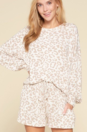 Leopard printed knit loungewear set-id.cc53072b