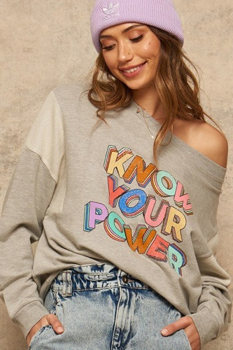 A french terry knit graphic sweatshirt-id.cc53079