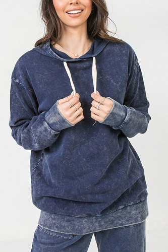 A mineral washed hoodie-id.cc53161