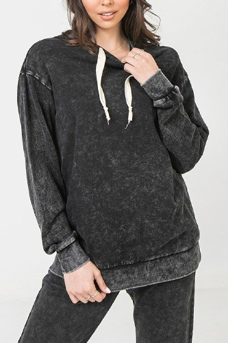 A mineral washed hoodie-id.cc53162