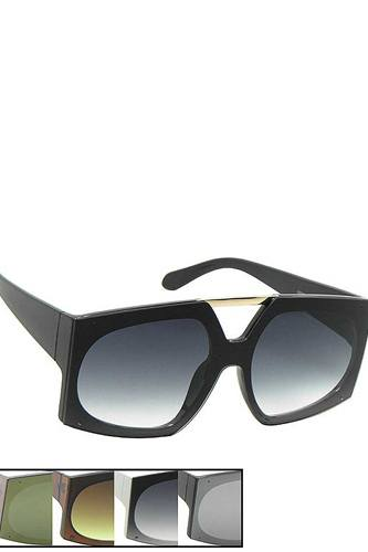 Stylish oval rectangle shape sunglasses-id.cc53979